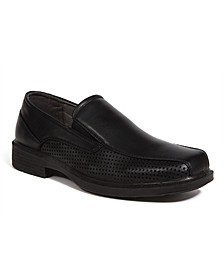 Men's Fortgreene Dress Casual Cushioned Comfort Bike Toe Slip-On Loafer