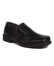 DEER STAGS Men's Fortgreene Dress Casual Cushioned Comfort Bike Toe Slip-On Loafer