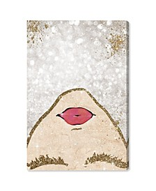 Glitter Coveted Girl Canvas Art Collection