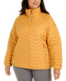 Columbia Plus Size Powder Lite Quilted Puffer Jacket