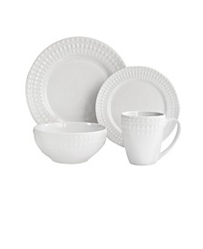 Jay Imports Amelie Porcelain 16 Pc Dinnerware Set