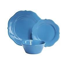 Scallop Sapphire Dinnerware Set