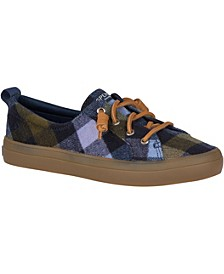 Women's Crest Vibe Plaid Wool Sneakers
