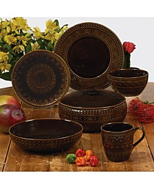 Aztec Brown Dinnerware Collection