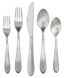 Lourdes Satin 45-Piece Flatware Set, Service for 8