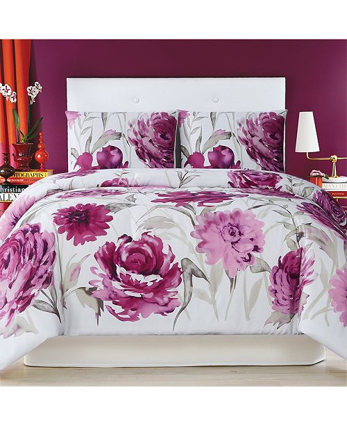 Christian Siriano New York Christian Siriano Remy Floral Twin Extra Large Comforter Set