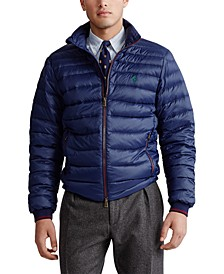 Men's Big & Tall Lightweight Packable Down Jacket