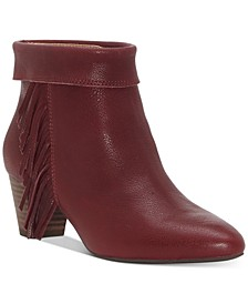 Women's Zakina Fringe Booties