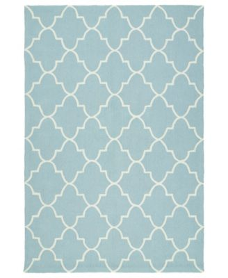 Escape ESC09-17 Blue 8' x 10' Area Rug