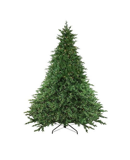 Northlight 9' Pre-Lit LED Instant Connect Minnesota Balsam Fir Artificial Christmas Tree