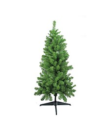 4' Traditional Noble Fir Medium Artificial Christmas Tree - Unlit