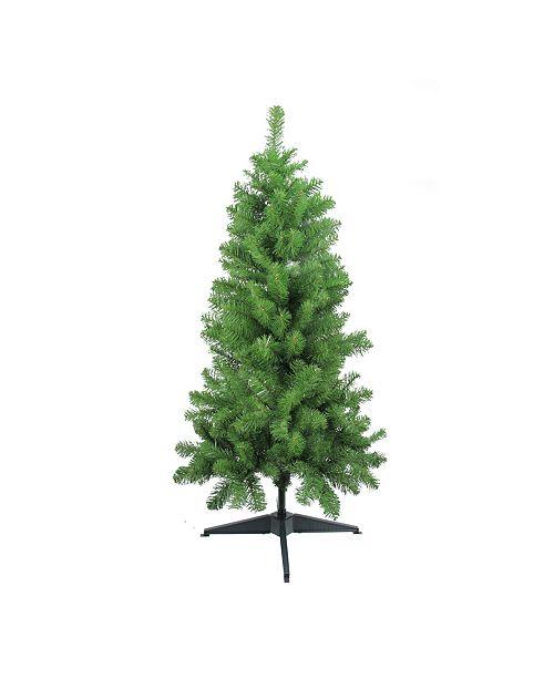 Northlight 4' Traditional Noble Fir Medium Artificial Christmas Tree - Unlit