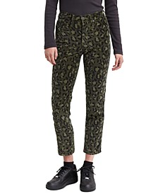 Women's Limited 724 Printed Cropped Straight-Leg Jeans