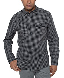 Men's Heather Gingham Shirt