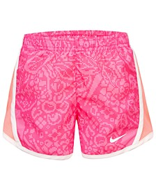 Little Girls Printed Dri-FIT Tempo Shorts