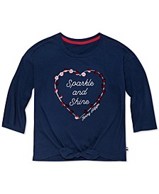 Big Girls Sparkle And Shine T-Shirt