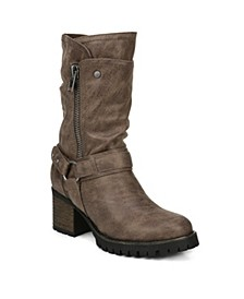 Georgina Mid Shaft Boots