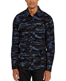 Men's Woven Camo Shirt