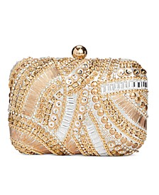 INC Jocelyn Beaded Clutch, Created for Macy's