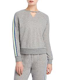2(x)ist Cut Out Stripe Sweatshirt