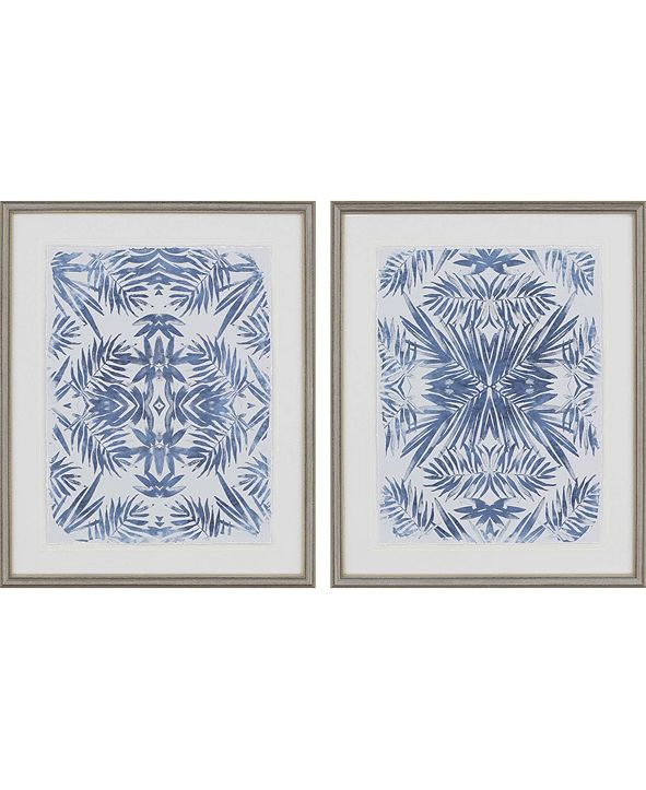 "Paragon Tropical I Framed Wall Art Set of 2, 31"" x 25"""
