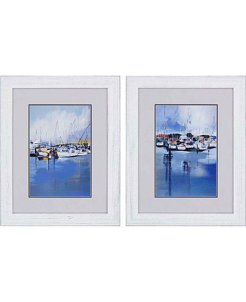 "Paragon Boats Framed Wall Art Set of 2, 30"" x 24"""
