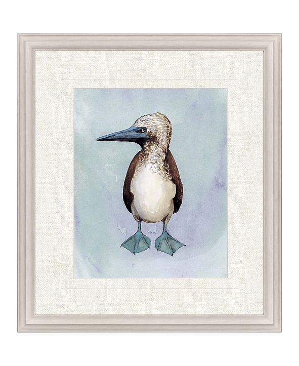 "Paragon Watercolor Beach Bird I Framed Wall Art, 31"" x 27"""