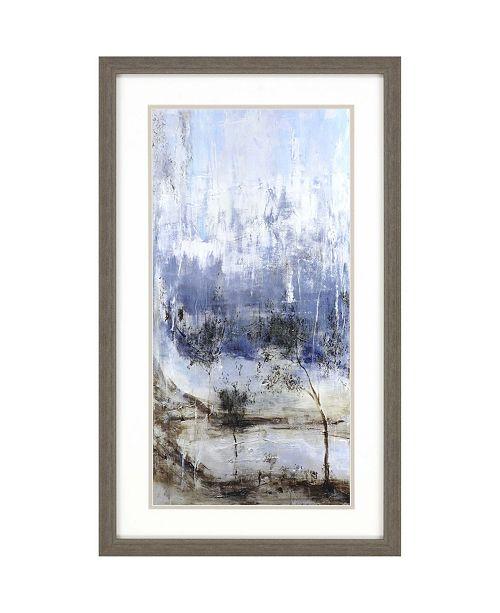 "Paragon Anchored in Blue II Framed Wall Art, 30"" x 18"""