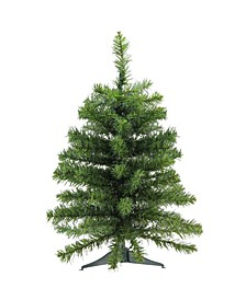 2' Canadian Pine Artificial Christmas Tree - Unlit