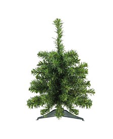 """18"""" Canadian Pine Artificial Christmas Tree - Unlit"""
