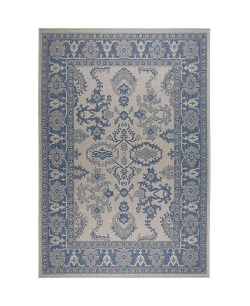 Nicole Miller  Patio Country Ayana Gray Area Rug Collection