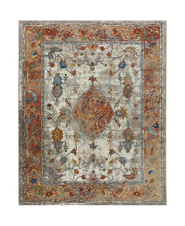 Nicole Miller  Parlin Aster Ivory Area Rug Collection