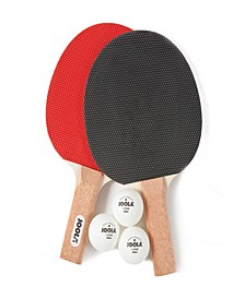 Essentials Series Duel 2-Player Table Tennis Racket Set with Rackets and Balls