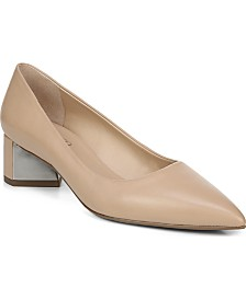 Franco Sarto Global Block Heel Pumps