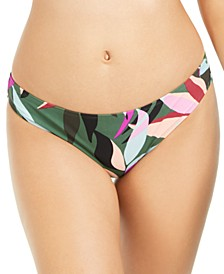 Juniors' Hyper Tropics Printed Hipster Bikini Bottoms, Created For Macy's