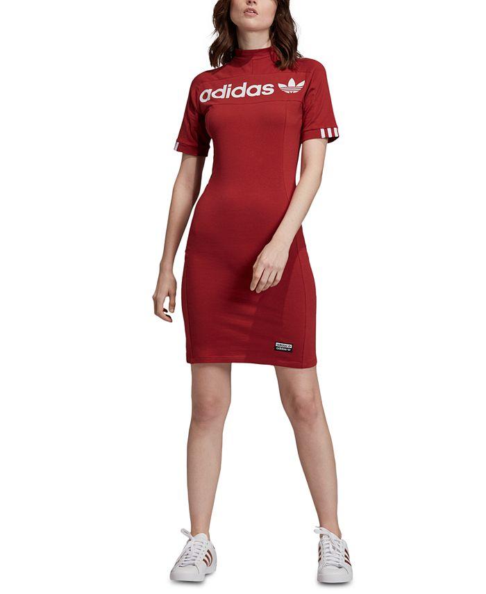 adidas Women's T-Shirt Dress & Reviews - Women - Macy's