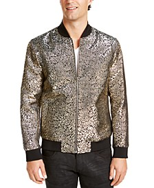 INC Men's Big & Tall Party Brocade Bomber Jacket, Created For Macy's