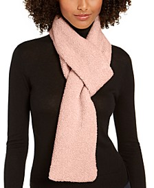 Faux-Shearling Pull Through Scarf