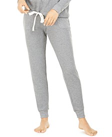 Women's Thermal Jogger Pajama Pants, Created For Macy's