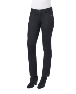 Ab Solution Mid Rise Straight Leg Jeans