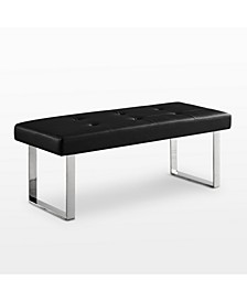 Oliver Tufted Square Bench