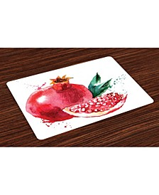Fruit Place Mats, Set of 4