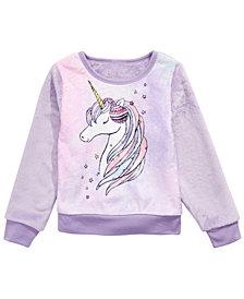 Evy of California Little Girls Unicorn Sweatshirt