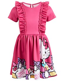 Little Girls Ruffled Dress