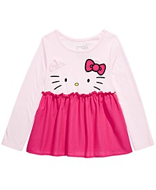 Little Girls Peplum Top