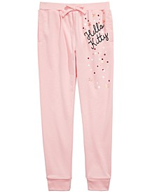 Little Girls Confetti Jogger Pants