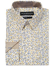 Men's Modern-Fit Floral Shirt
