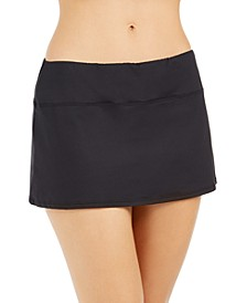 Skirted Swim Bottoms