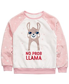 Big Girls Plush No Prob Llama Top