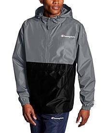 Men's Colorblocked Packable Half-Zip Jacket